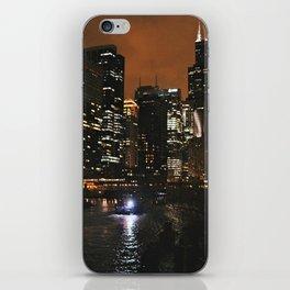 Nighttime Chicago iPhone Skin