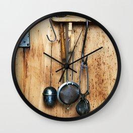 BLUE KITCHEN EQUIPMENT Wall Clock