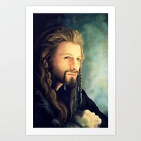 fili Art Prints featuring Fili by Alba Palacio