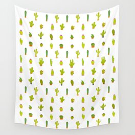 Mind-calming cactuses Wall Tapestry