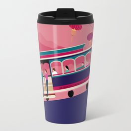 San Francisco Tram on the Hill Travel Mug