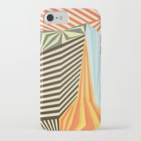stripes iPhone & iPod Cases featuring Yaipei by Anai Greog