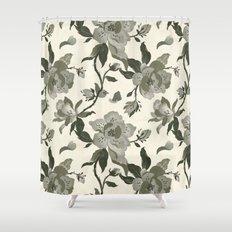 black magnolia pattern