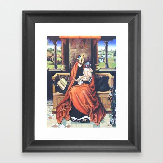 Harder, Better, Sacred Framed Art Print
