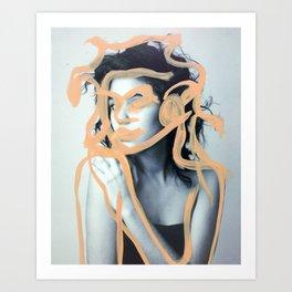 Holly Art Print