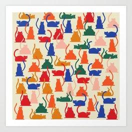 Flaunt Your Catitude Art Print