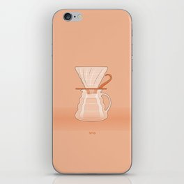 Coffee Maker Series - Pour-over Dripper iPhone Skin