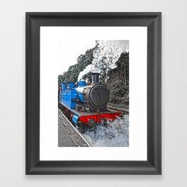 Letting Off Steam  Framed Art Print
