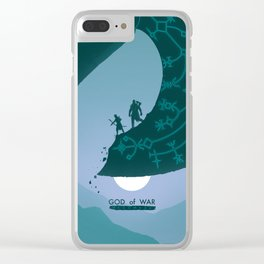 Father and Son Clear iPhone Case
