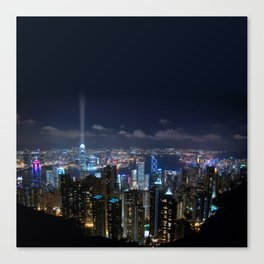 Hong Kong- Victoria Peak Canvas Print