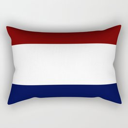 Team Colors 8....Maroon , navy and white Rectangular Pillow