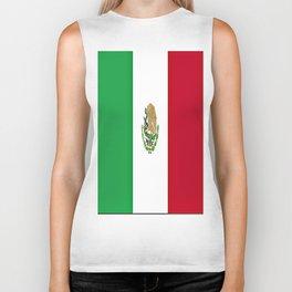 Flag of Mexico Biker Tank