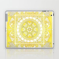 Golden Henna Mandala Laptop & iPad Skin