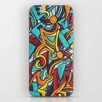 jazz iPhone & iPod Skins featuring Jazz by Jon McTavish