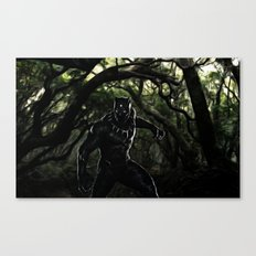 Big Cat On The Prowl Canvas Print