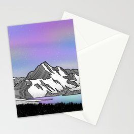 Aoraki Mount Cook Stationery Cards