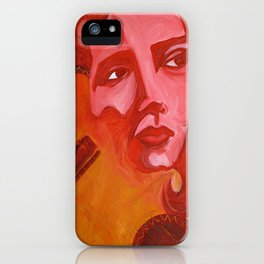 Chingona Chavela, La Joven iPhone Case