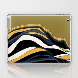 olive & navy & mustard  / minimalist Laptop & iPad Skin