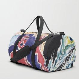Peacock Queen Duffle Bag