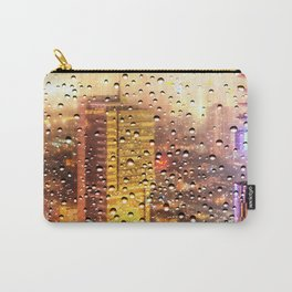 Rain Water drops Carry-All Pouch
