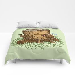 The Popsicle Log Comforters