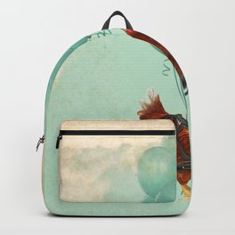 Chickens can't fly 02 Backpack