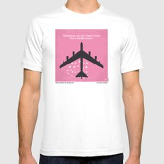 No025 My Dr Strangelove minimal movie poster LARGE White Mens Fitted Tee