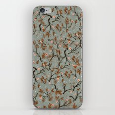 Snow Floral iPhone & iPod Skin