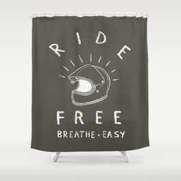 breathe easy Shower Curtain