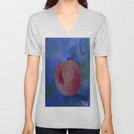 Peach Unisex V-Neck