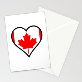 Love Canada Stationery Cards