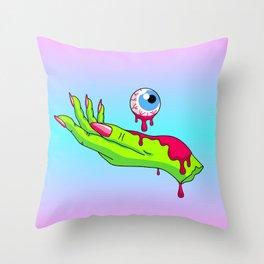 I C U Throw Pillow