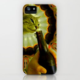 drinking from your cup iPhone Case