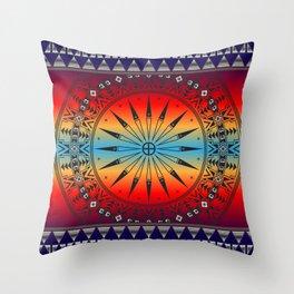 Morning Sky Throw Pillow