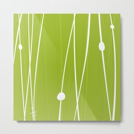 Grass by Friztin Metal Print