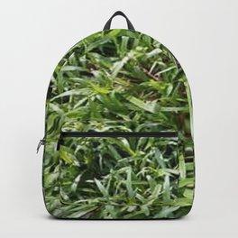 Green Grass Field  Backpack