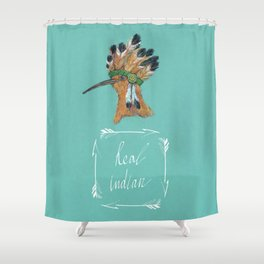 Real indian Shower Curtain