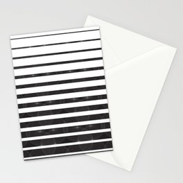 Spirograph on stripes - 1 Stationery Cards