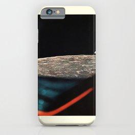 cartellone apollo xi earthrise through the lem iPhone Case
