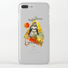 Hermanus Wobble Clear iPhone Case