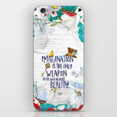 Alice in Wonderland - Imagination iPhone & iPod Skin