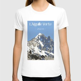 L'Aiguille Verte - France T-shirt