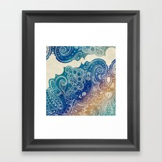 Mermaid Princess  Framed Art Print