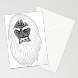 Miscolored Monster Stationery Cards