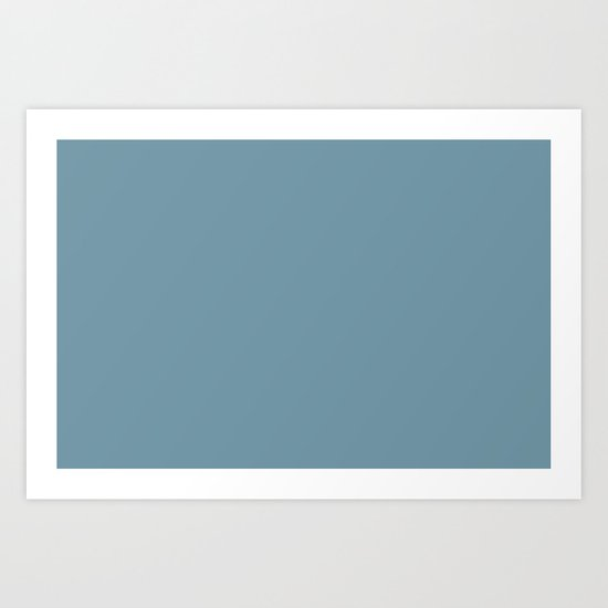 Dunn and Edwards 2019 Curated Colors Smoky Blue (Muted Pastel Blue) DET570 Solid Color by simplysolids