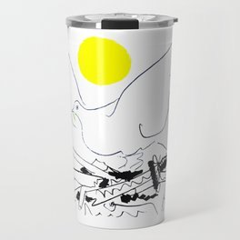 World Without Weapons, 1962, Pablo Picasso Artwork Travel Mug