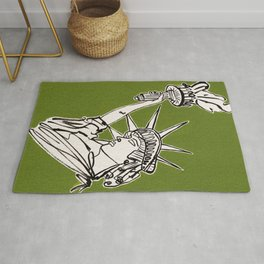 Statue of Liberty Rug