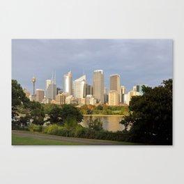 Eastern Sydney Skyline Canvas Print
