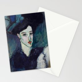 "Amedeo Modigliani ""The Jewess"" Stationery Cards"