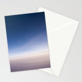 silent morning above Java Stationery Cards